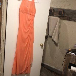 Formal Coral dress size 10